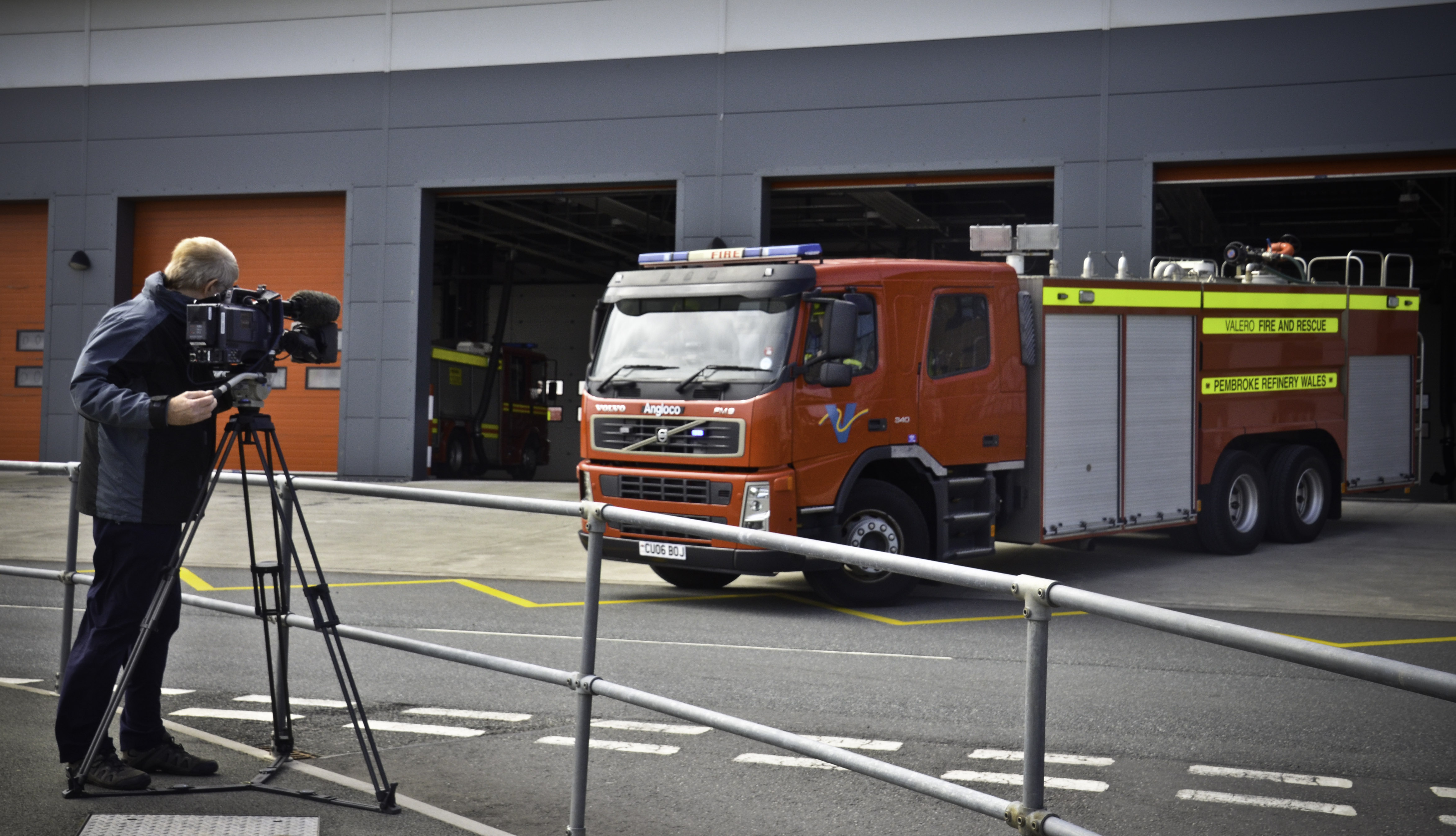 Fire and emergency filming